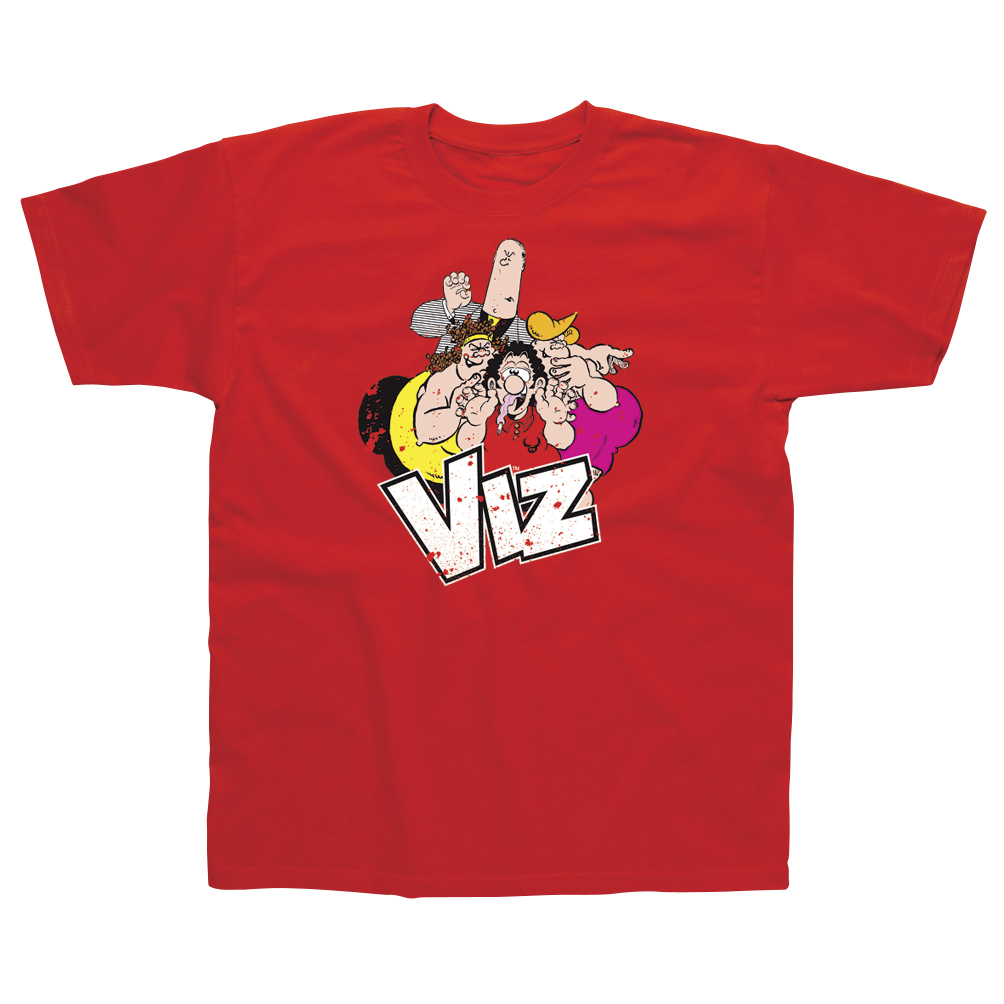 Viz group red t shirt xx large best price for The red t shirt company