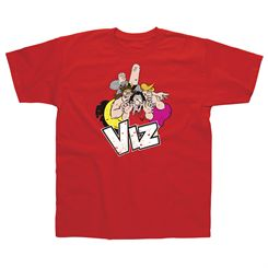 Viz Group Red T-Shirt
