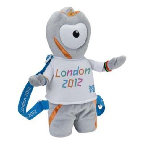 Wenlock 3D Plush Backpack