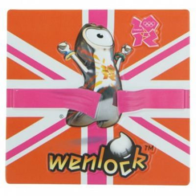 Wenlock Finish Line Relief Magnet 2012