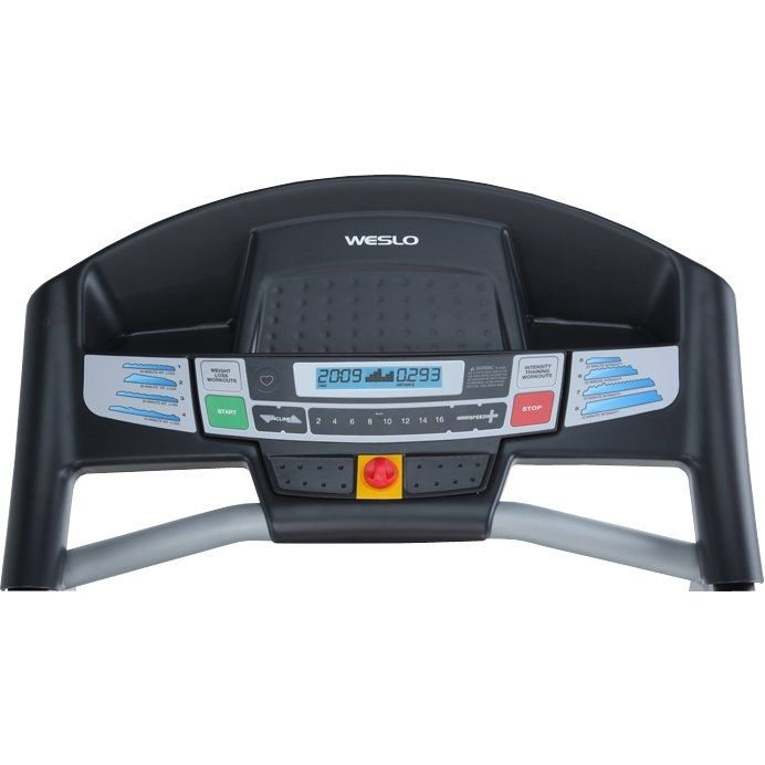 Treadmill Belt Crease In The Middle: Weslo Cadence 21.0 Folding Treadmill