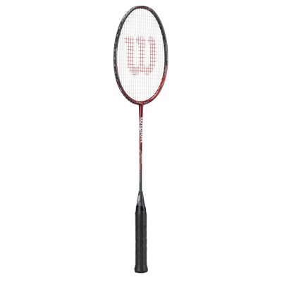 Wilson Hyper Team 600 Badminton Racket - Red