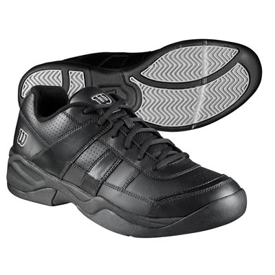 Wilson Pro Staff Court Men Tennis Shoes - Black