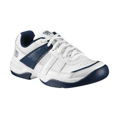 Wilson Pro Staff Court Junior White/Silver/Navy - Single shoe