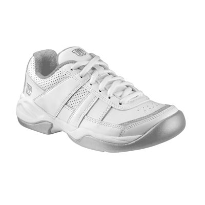 Wilson Pro Staff Court Junior White/Silver - Single shoe