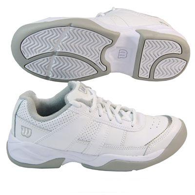 Wilson Pro Staff Court Junior White/Silver