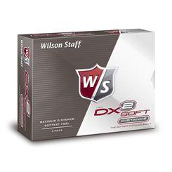 Wilson Staff DX2 Soft Golf Balls SS15