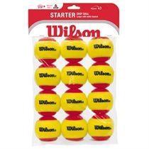 Wilson Starter Easy Red Balls - 12 Pack