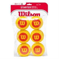 Wilson Starter Foam Balls - 6 Pack