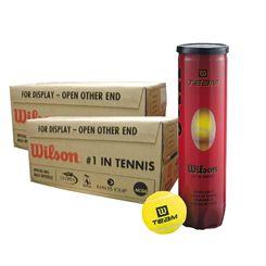 Wilson Team W Tennis Balls - 12 dozen