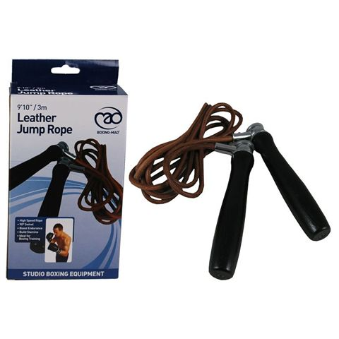 Boxing Mad Leather Jump Rope