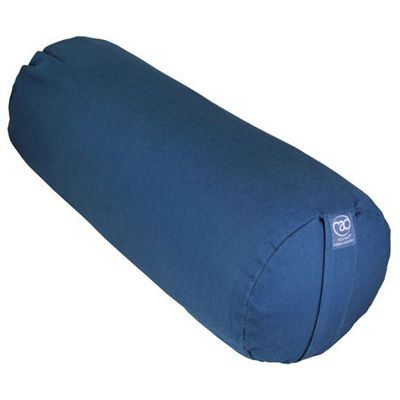 Yoga Mad Organic Cotton Yoga Bolster - Blue