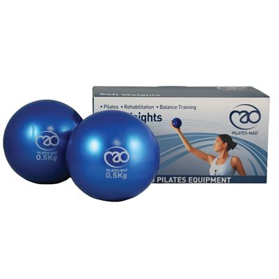 Pilates Mad Soft Weights 2 x 0.5kg
