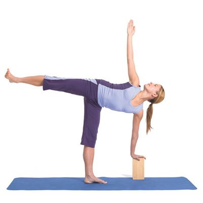 Yoga Mad Hollow Bamboo Brick - In Use
