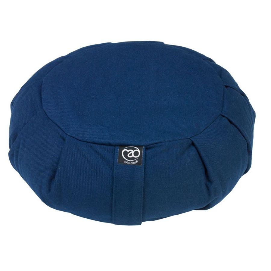 Yoga Mad Pleated Round Zafu Buckwheat Cushion