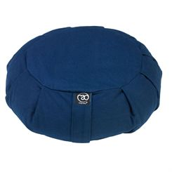 Yoga Mad Pleated Round Zafu Buckwheat Cushion