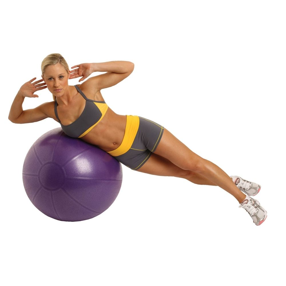 Fitness Mad Studio Pro 500Kg Swiss Ball and Pump - 65cm