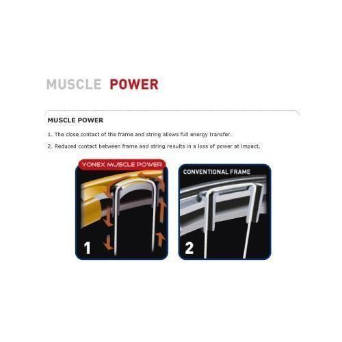 Yonex badminton racket muscle power 22