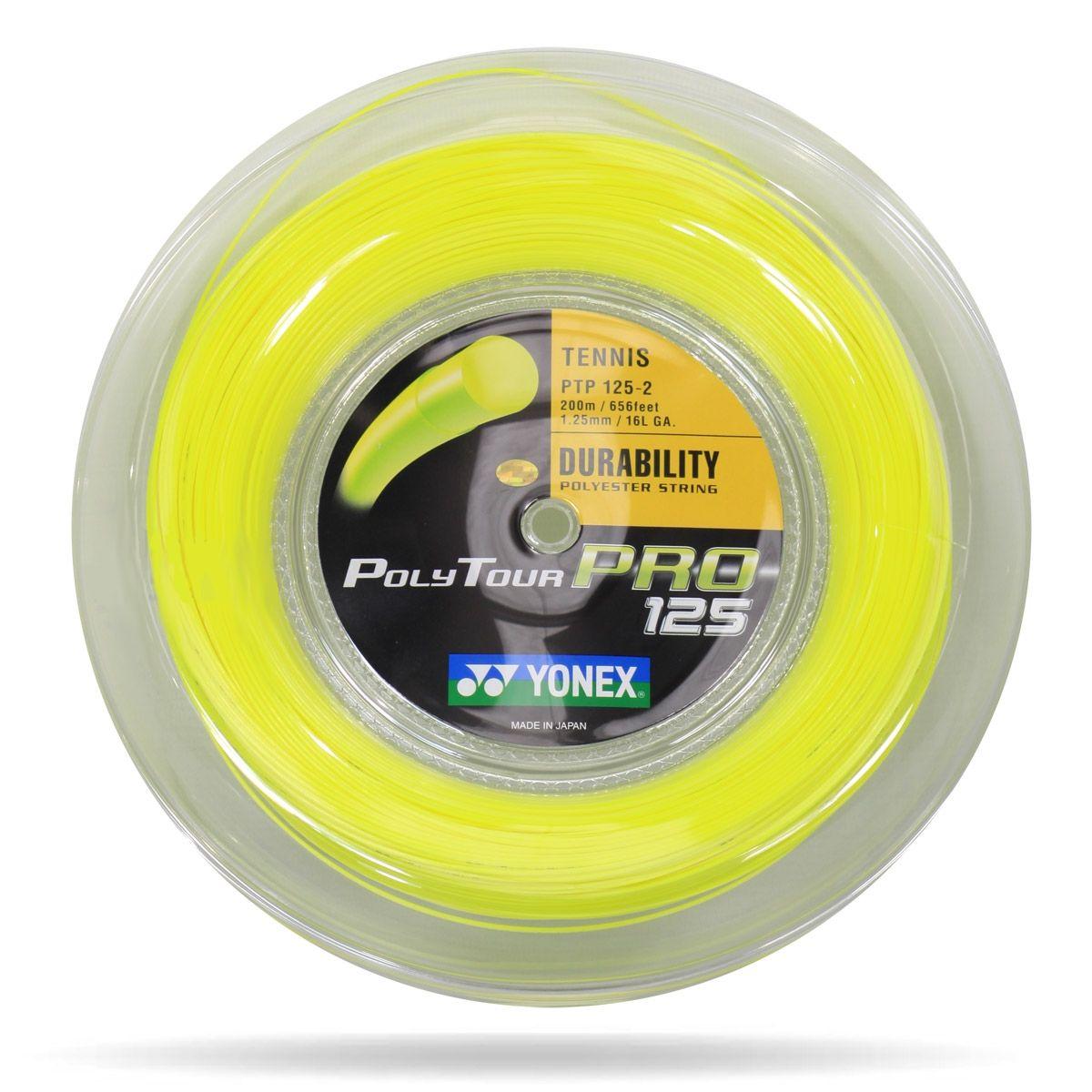 Yonex Polytour Pro 125 Tennis String 200m Reel