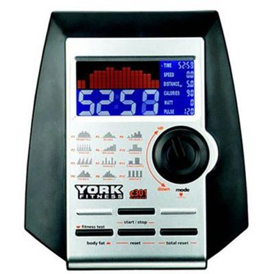 York Diamond c301 Exercise Bike Console