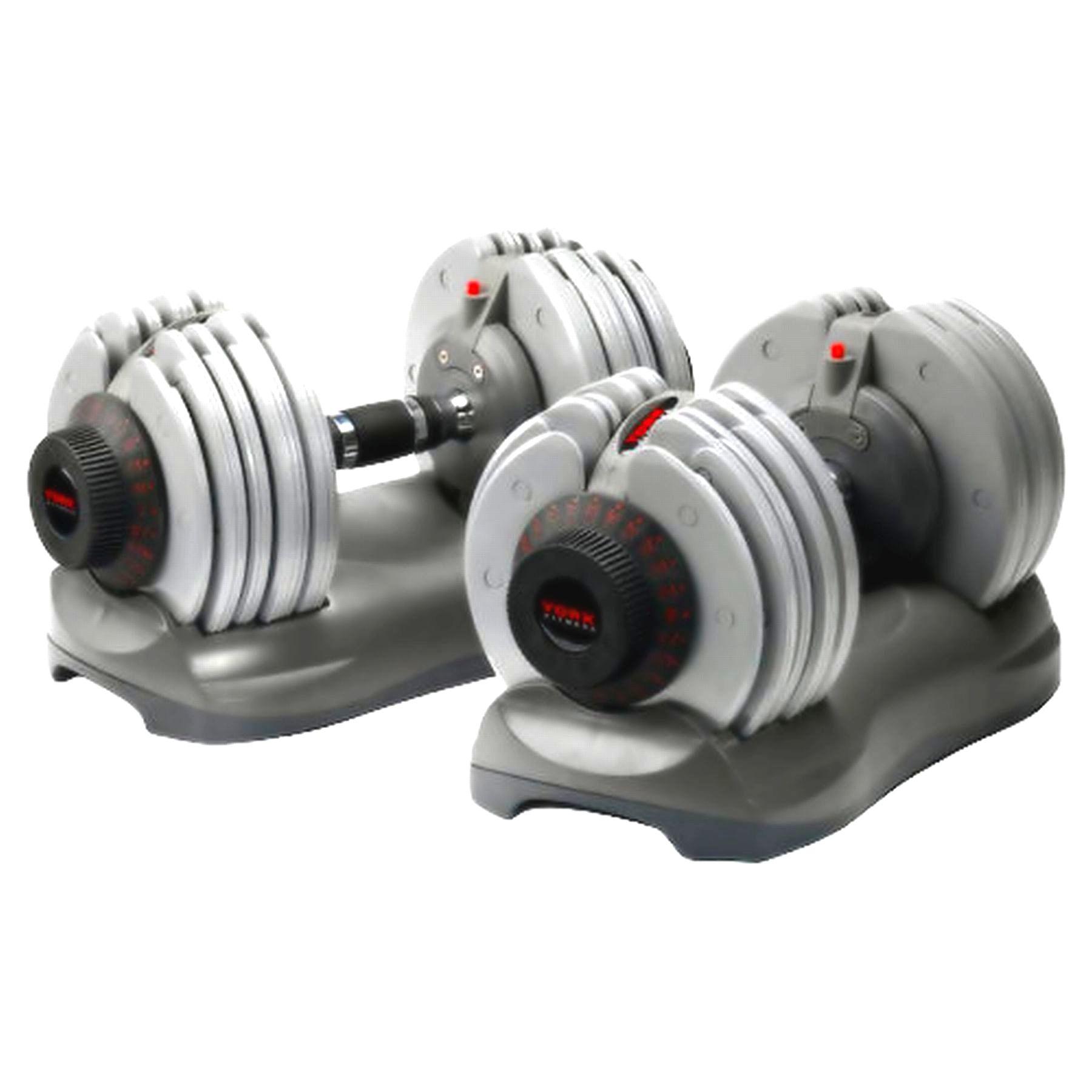 York Dial Tech 32 5kg Dumbbells Sweatband Com