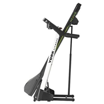York Nexus Treadmill Folded
