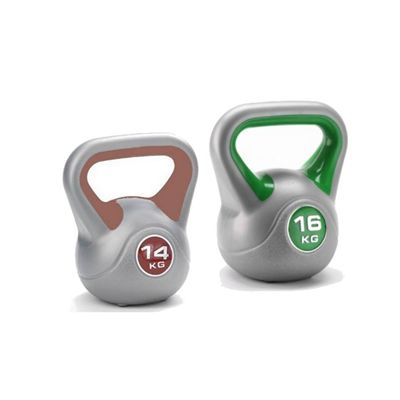 14kg and 16kg Vinyl Kettlebells