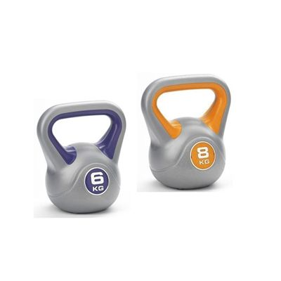 6kg and 8kg Vinyl Kettlebells