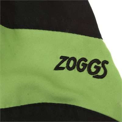 Zoggs Corbett Reef Board Boys Short - Black, logo