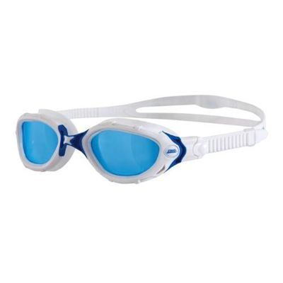 White Frame/Blue Lens