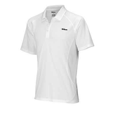 Wilson Performance Polo Shirt White