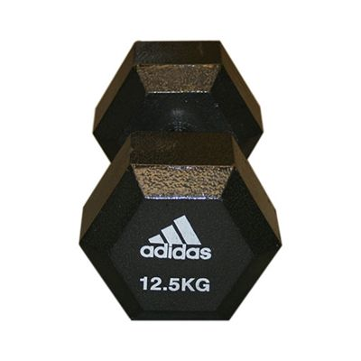 Adidas 12.5kg Hex Dumbbell Single