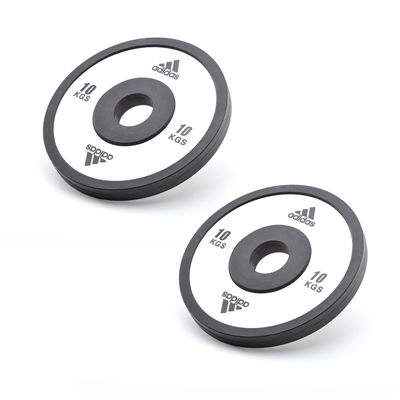 Adidas 2 x 10kg Elite Standard Weight Plates