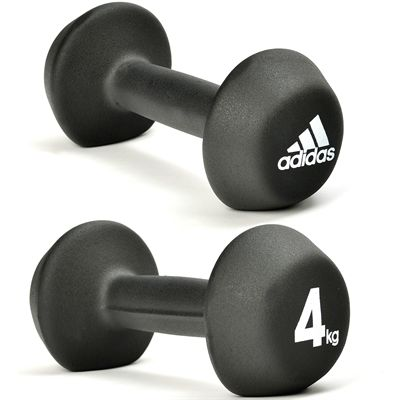 adidas 2 x 4kg Neoprene Dumbbells AW15