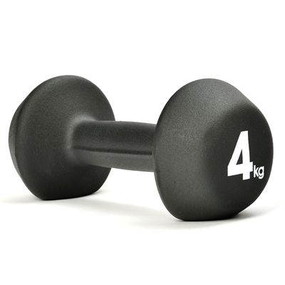 adidas 4kg Neoprene Dumbbell - 4kg