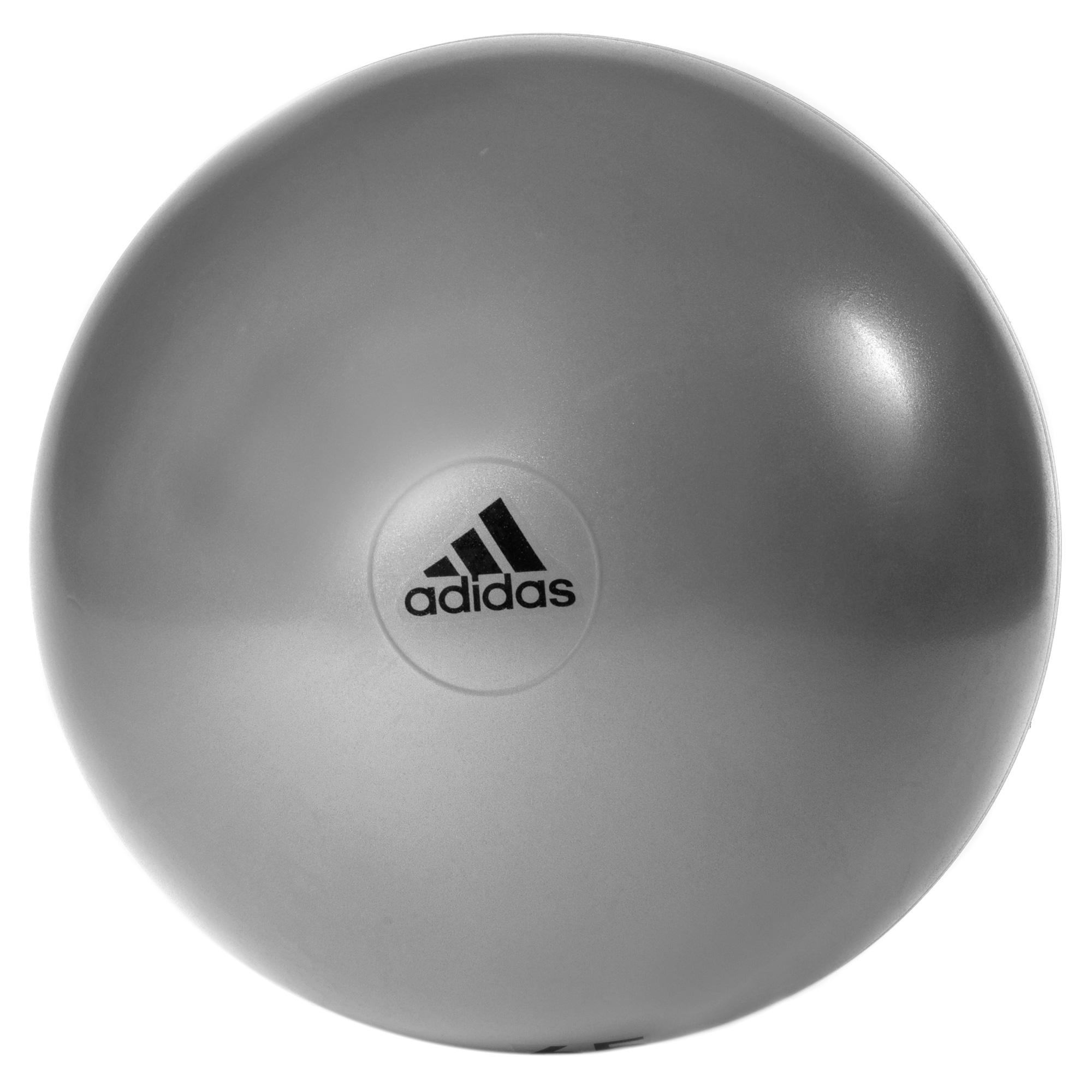 adidas 55cm Gym Ball  Grey