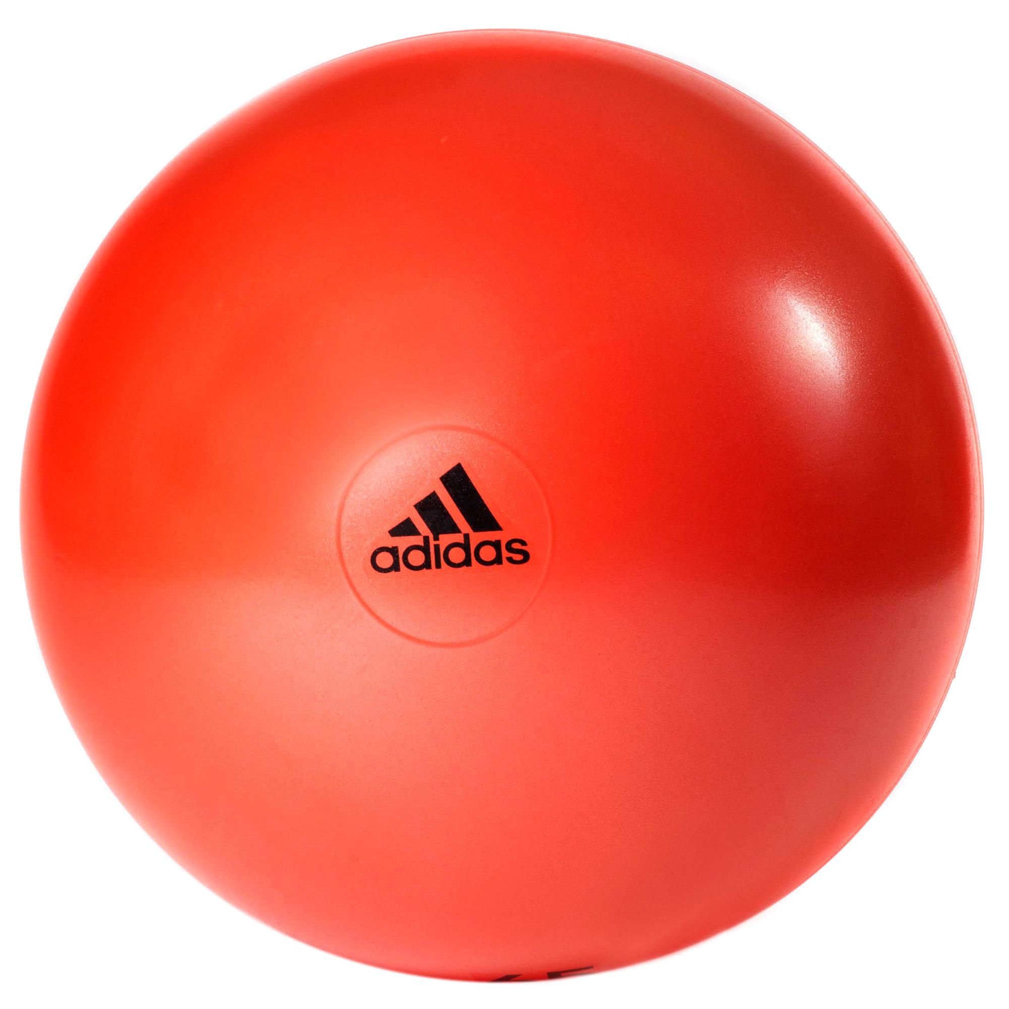 adidas 55cm Gym Ball  Orange