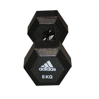 Adidas 5kg Hex Dumbbell - Single