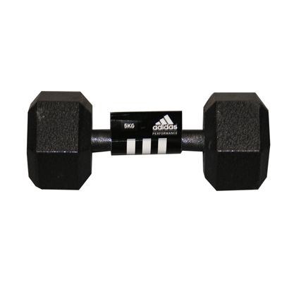 Adidas 5kg Hex Dumbbell Single