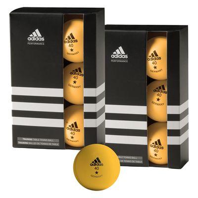 adidas 6 Training Table Tennis Balls
