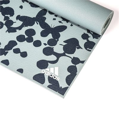 adidas 6mm Butterfly Yoga Mat - Zoomed