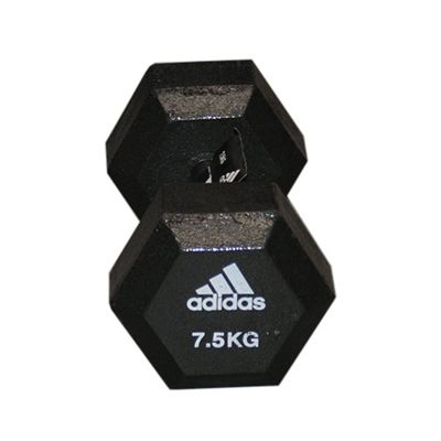 Adidas 7.5kg Hex Dumbbell - Single