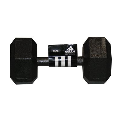 Adidas 7.5kg Hex Dumbbell Single