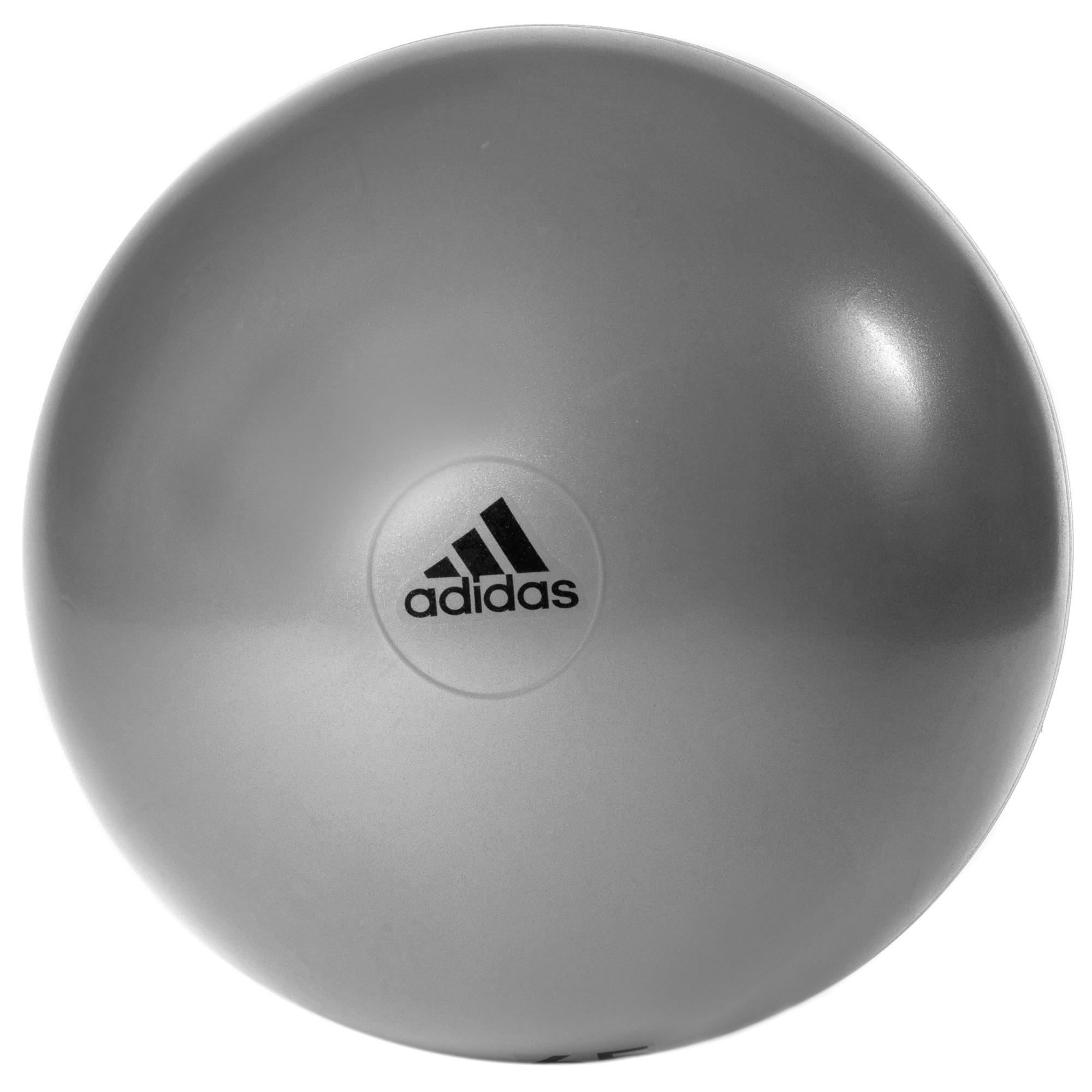 adidas 75cm Gym Ball  Grey