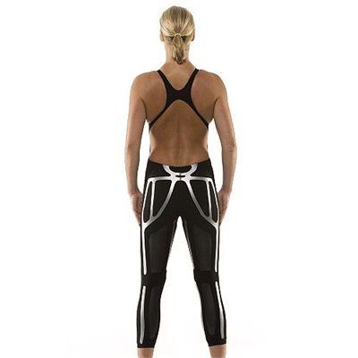 Adidas TechFit 2 Open Body Long Leg Ladies Swimsuit Back