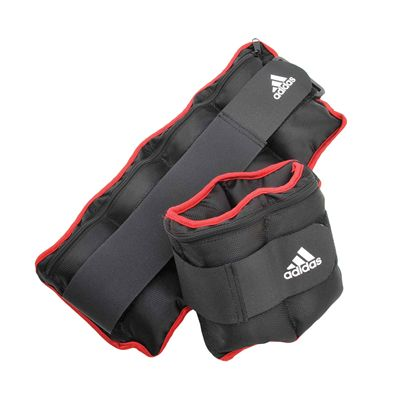 Adidas Adjustable Ankle Wrist Weights 2 x1kg other view