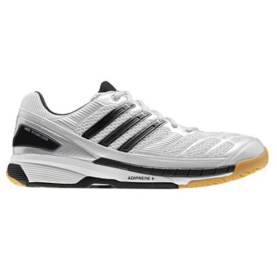 Adidas BT Feather Mens Court Shoes - White/Black