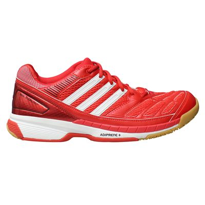 adidas BT Feather Mens Court Shoes - Red/White