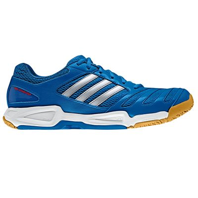 adidas BT Feather Team Mens Court Shoes Blue Silver