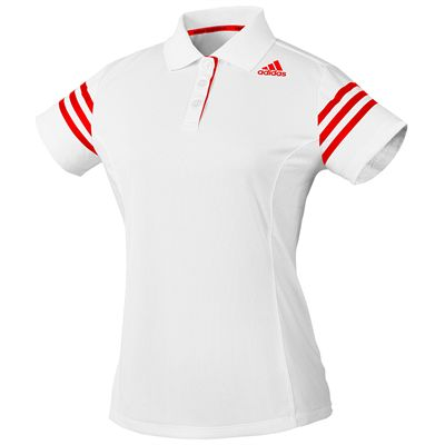 adidas Climacool Technical Ladies Polo Shirt - White